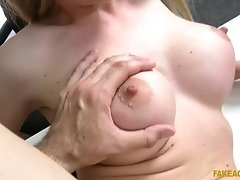 Russian slut Isabella Clark shows her fucking skills at a casting