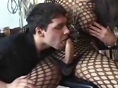 Italian Shemale - fishnet