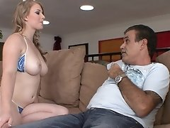 stepdad can t control his hot babe stepdaughter.mp4