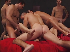 Bitches getting all holes lugged by hard cock