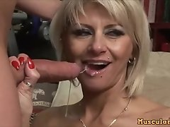Arousing Mom Cathy Fucks Son As Filthy Whore